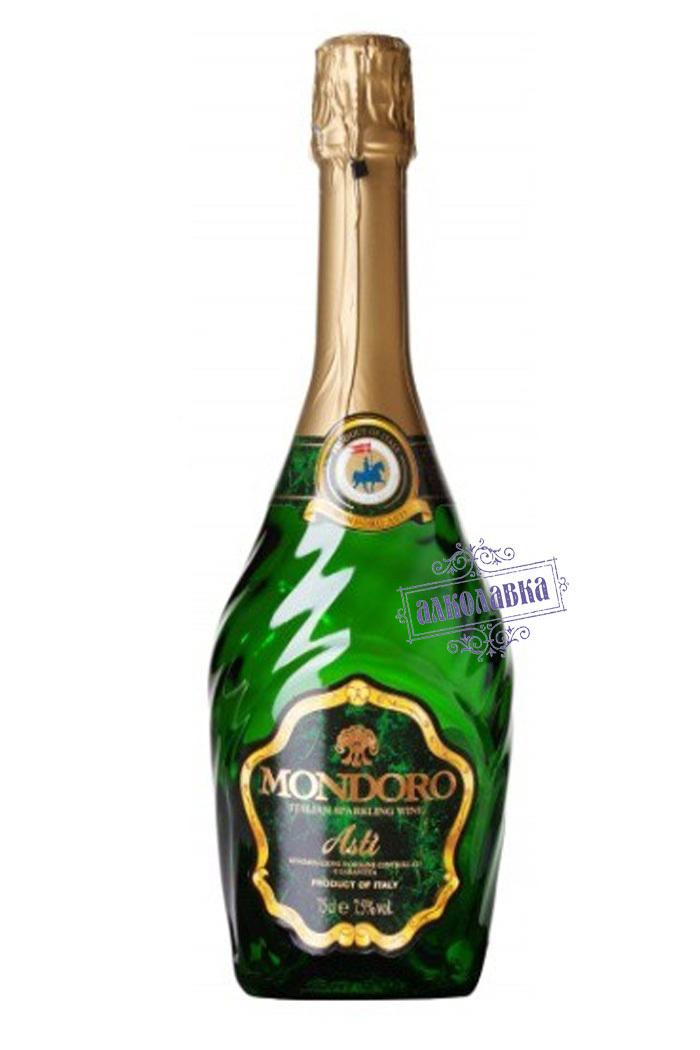 Асти Мондоро. Вино игристое сладкое белое. 0,375 л.