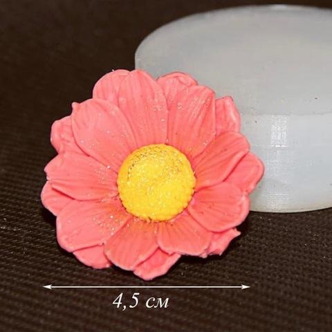 3D ЦВЕТОК силиконовый молд (диаметр 45мм)