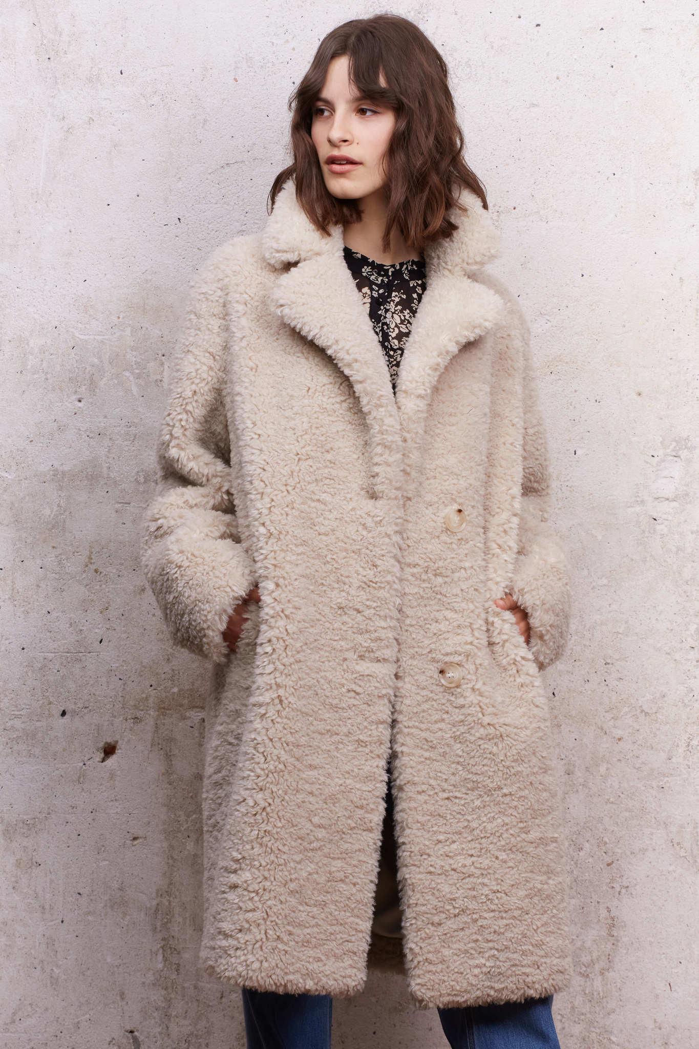 SOLENNE - Пальто из искусственного меха