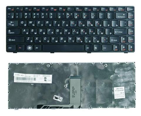 Клавиатура для Lenovo IdeaPad B470, G470, G475, V470, Z470, рус., черная