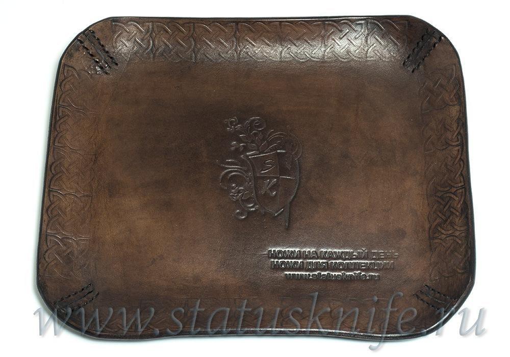 Кожаный лоток Statusknife - фотография