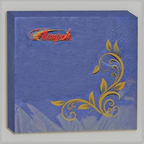 Салфетки 33х33 см голубые двухслойные 20 шт.
