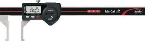 Штангенциркуль с цифровым отсчетным устройством с отогнутыми наружу измерительными губками 150 мм