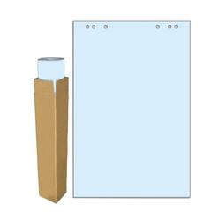 Бумага для флипчартов Attache Selection 68х98 см голубая 20 листов (80 г/кв.м)