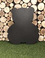 Бизиборд Мишка 50х60 см бирюзовый для мальчика