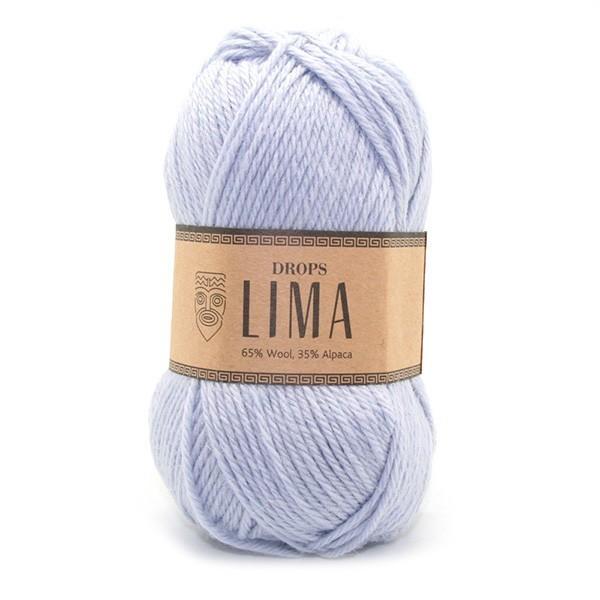 Пряжа Drops Lima 8112 небесно-голубой