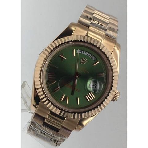 Часы наручные Role Day-Date Green