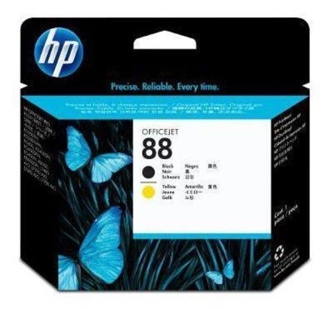 Печатающая головка HP С9381A (№88), черная и желтая
