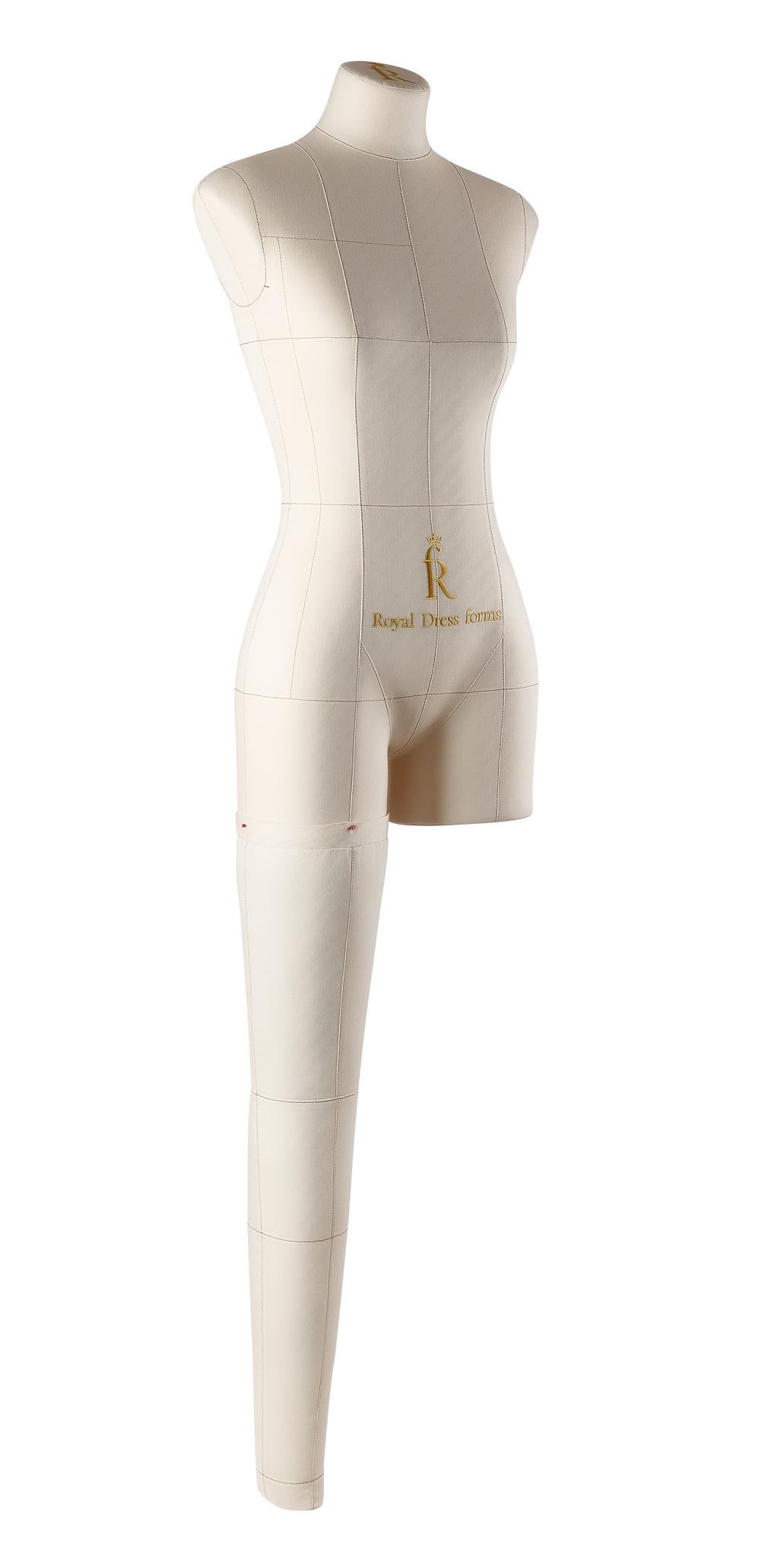 Нога бежевая для манекена Моника, размер 40Фото 2