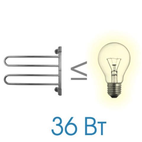 Полотенцесушитель электрический U G2 Energy  540x635