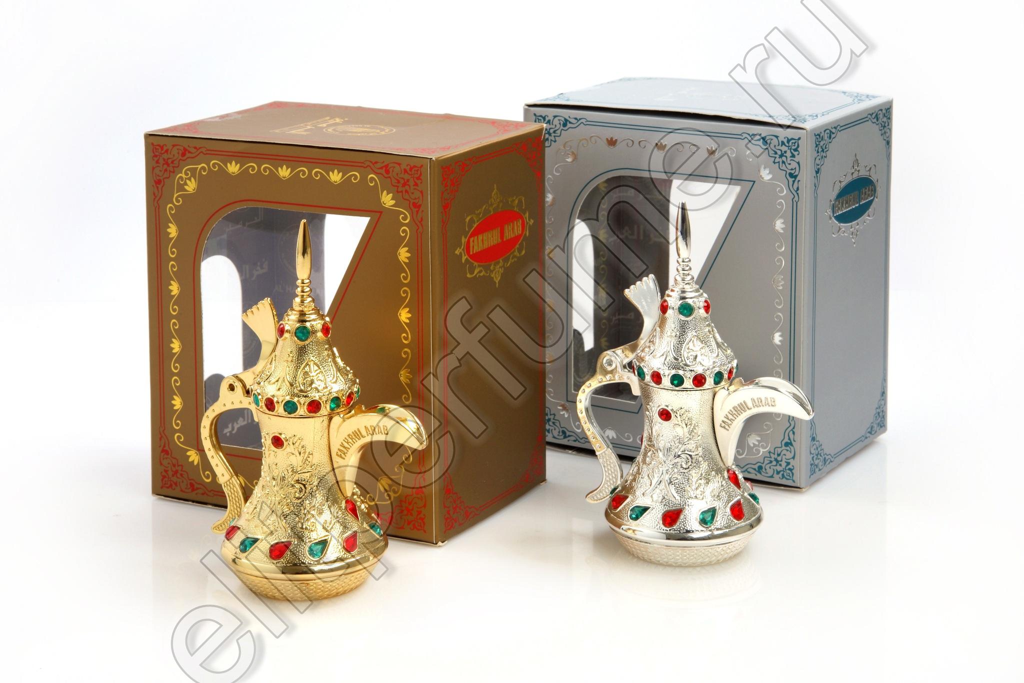 Пробники для духов Фахруль Араб Fakhrul Arab (Gold/Silver , Золото/Серебро) 1 мл арабские масляные духи от Аль Харамайн Al Haramin Perfumes