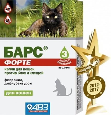 Барс Форте для кошек