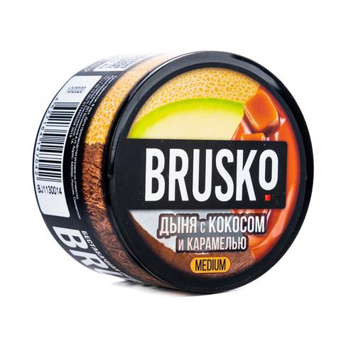 Кальянная смесь BRUSKO 50 г Дыня с Кокосом и Карамелью