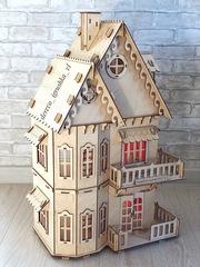Кукольный дом + шторы