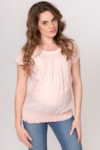 Блузка для беременных 08723 розовый