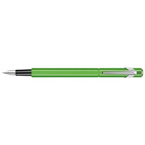 Перьевая ручка Carandache Office Fluo (841.230) желто-зеленая перо F