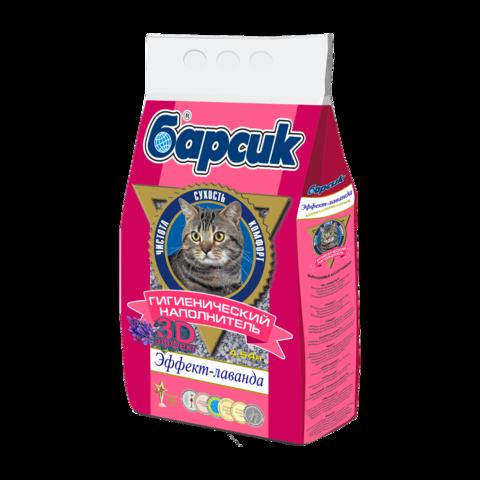 Барсик Эффект-Лаванда Наполнитель для туалета кошек впитывающий