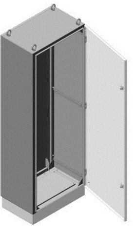 ЩМП-16.8.4-0 (1600х800х400) без монтажных панелей TDM