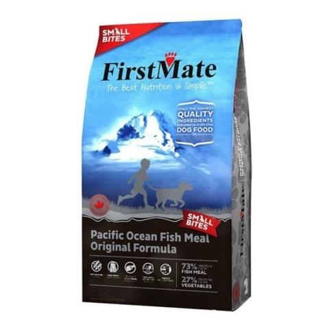 FirstMate Pacific Ocean Fish Meal Original Small Bites сухой беззерновой корм для взрослых собак мелких пород с рыбой