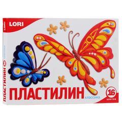 Plastilin Lori Классика 16 rəng