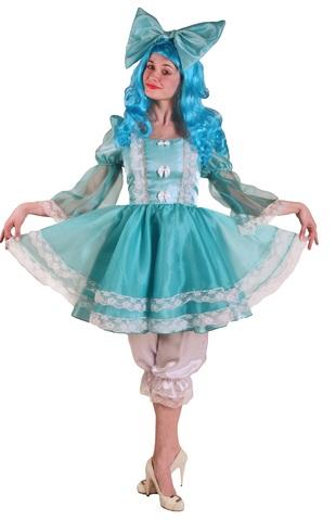 Карнавальный костюм  взрослый Мальвина