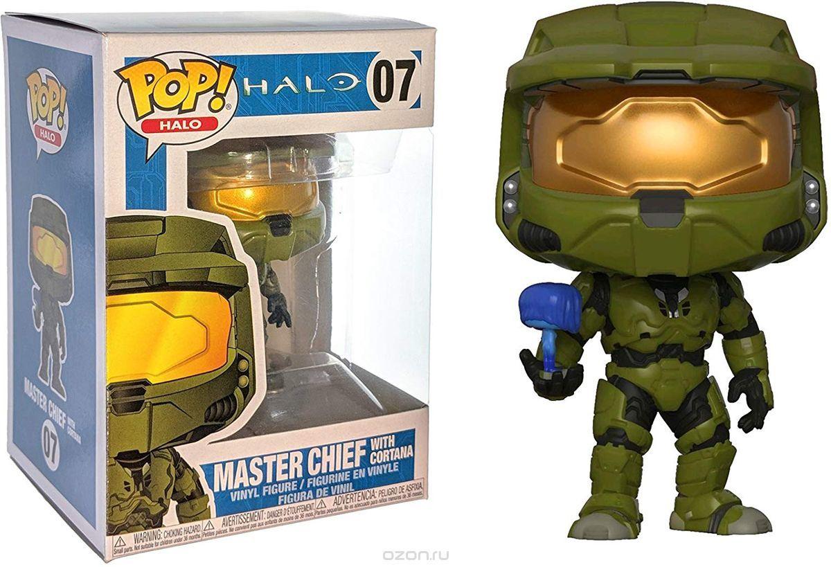 Фигурка Funko POP! Vinyl: Halo S1: Master Chief w/ Cortana 30099