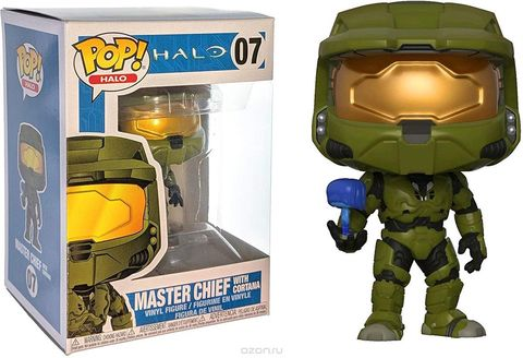 Фигурка Funko POP! Vinyl: Halo S1: Master Chief w/ Cortana 30099