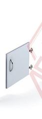 Д-7 Дверь к стеллажам (шириной 400 мм,на 1 секцию)