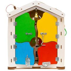 Бизиборд домик цирк 35X40 со светом