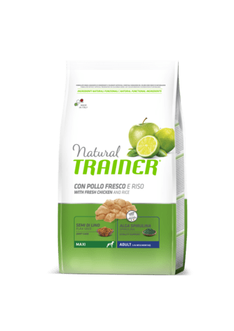 Trainer Natural Maxi with fresh chicken and rice