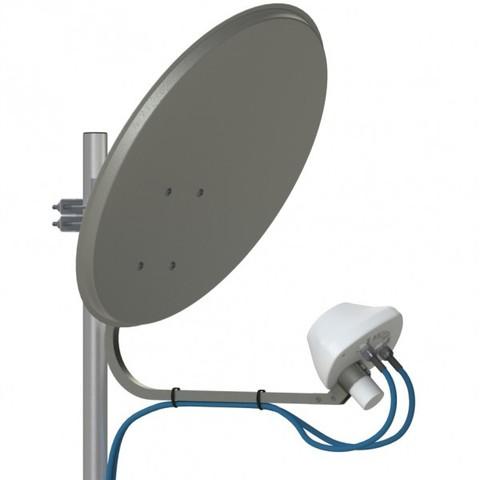 AX-2000 OFFSET MIMO 2x2- облучатель для офсетного спутникового рефлектора