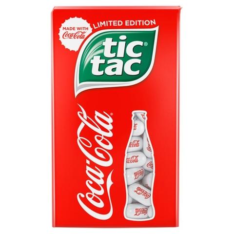 Драже TIC-TAC Coca-Cola Т100 РОССИЯ