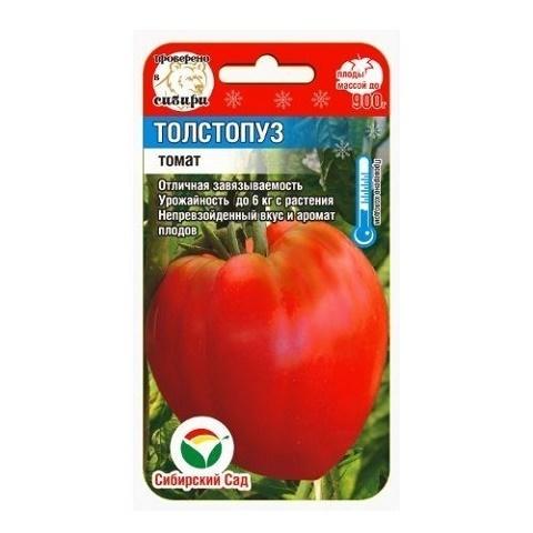Толстопуз 20шт томат (Сиб сад)