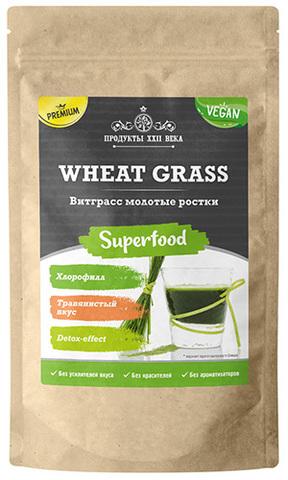 Витграсс Премиум, молотые ростки пшеницы, 100 / 200 г