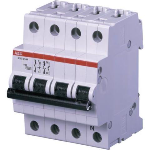Автоматический выключатель 3-полюсный с нулём 20 А, тип Z, 10 кА S203MT-Z20NA. ABB. 2CDS273106R0488