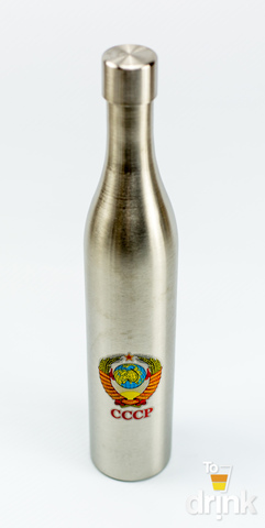 Фляга бутылка «СССР», в коричневом чехле, 500 мл
