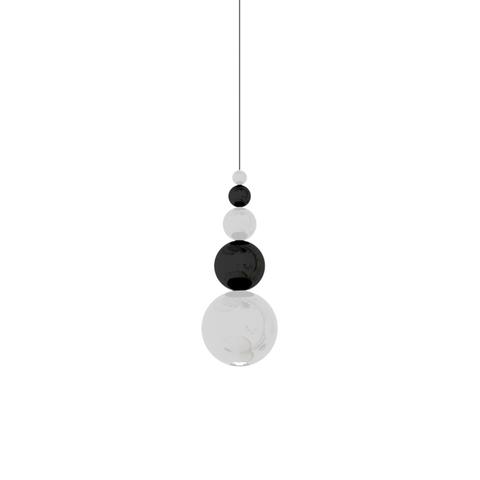 Подвесной светильник копия Bubble by Innermost (белый/черный)