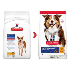 Корм для собак Hill's (12 кг) Science Plan Canine Mature Adult 7+ Active Longevity Medium with Chicken