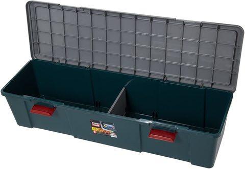 Экспедиционный ящик IRIS RV Box 1150D, с открытой крышкой.