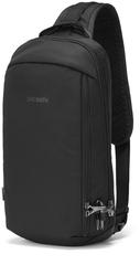 Рюкзак однолямочный Pacsafe Vibe 325 sling, черный econyl, 10 л.