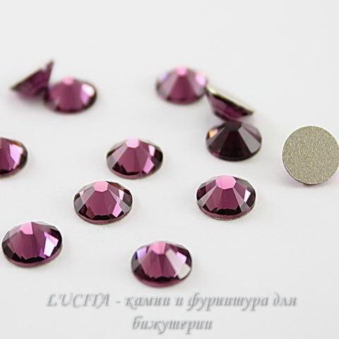 2028/2058 Стразы Сваровски холодной фиксации Amethyst ss12 (3,0-3,2 мм), 10 штук ()