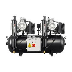 AC600 безмаcляный компрессор (8 установок - 2х3 цилиндра) Cattani