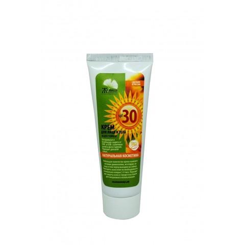 Крем солнцезащитный 30 SPF Живица