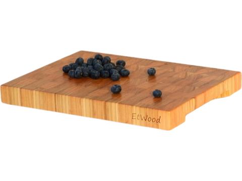деревянная торцевая разделочная доска из лиственницы