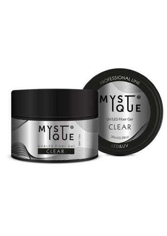 Mystique Однофазный файбер гель, с добавлением стекловолокна «Clear» 15 мл