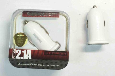 Адаптер ReMax Car Carger CC101 12/24V-USB 2.1A