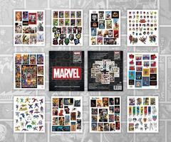 Стикербук «Marvel 80 Years»