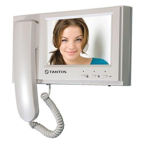 Видеодомофон Tantos LOKI (White)