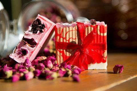 Органическое мыло Суданская Роза