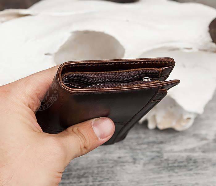 WL297-2 Классическое мужское портмоне со съемным кардхолдером фото 10